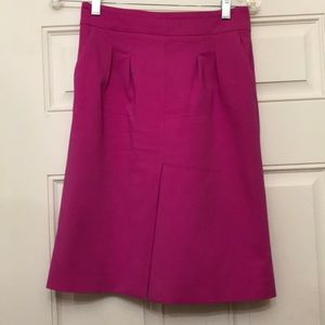 Zara hot pink front slit Gorgeous skirt!!